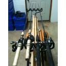1 Set Boat Rod Racks